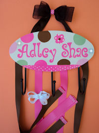 HeadBand + Bows Holder - Adley Shae