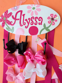 HeadBand + Bows Holder - Alyssa