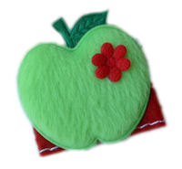 FELT CLIP - Apple - BACK TO SCHOOL - GREEN