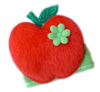 FELT CLIP - Apple - BACK TO SCHOOL - RED