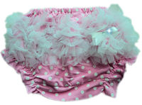Princess Bloomers - Pink & White Polkadots Tulle