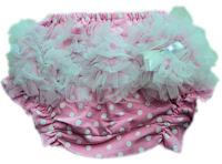 Princess Bloomers - Pink & White Polkadots Tulle