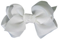 Basic Bows - Everyday White