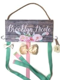 Hair Bow Holder - Brooklyn Nicole Style