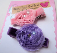 Cadence - Set of 2 - Lavender and Pink