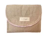 Travel Clip Case - Linen
