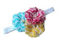 Chevron Bling Headband - Candy Crush