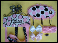 Gift Set - HeadBand + Bow Holder