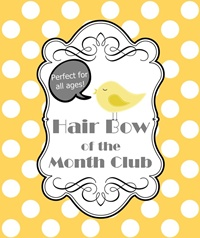 Hair Bow of the Month Club Membership CHECKOUT - 6 MONTHS