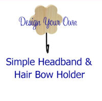 DESIGN YOUR OWN - Flower Hook