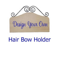 DESIGN YOUR OWN - Hair Bow Holder