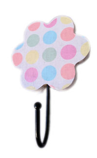 Flower Hook - Funky Pattern - U FINISH it up! - Shabby Dots