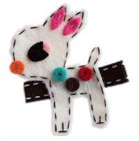 Doe-A-Deer - Ivory