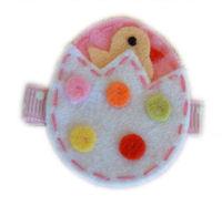 FELT CLIP - Easter Egg Chickie