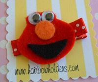 FELT CLIP - Elmo