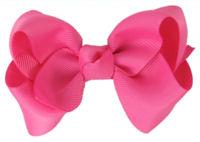 Basic Bows - Everyday HOT Pink