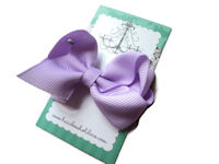 Everyday MINI Bow - soft lavender