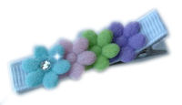 Little Felt Flowers - Colorful