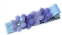 Little Felt Flowers - Shades of Purple