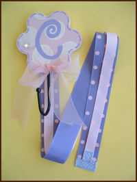 Flower Hook - Pink & Lavender