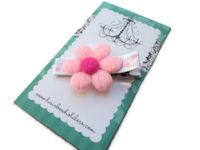 Fluffy Daisy - Light Pink