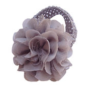 Chiffon Flower Headband - Gray