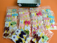 WHOLESALE - Infant Hair Pretties - 13 PACKETS