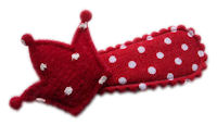 Cutie Snap Clips - Red Crown