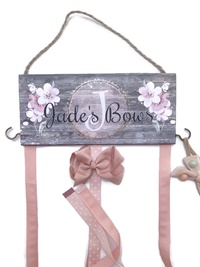 Hair Bow Holder - Ryanne Mae DARKER Style