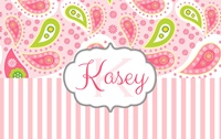 "CUSTOM ORDER - Paisley New Print - ""Kasey"" for Judy"