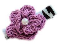 Crochet Pearl - Lavender Diva