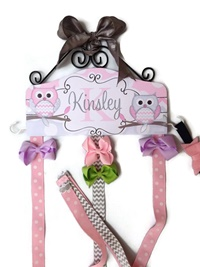 Hair Bow Holder - Owl - Kinsley Style