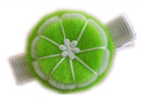 FELT CLIP - Lime