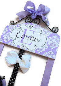 Emma Collection - Lavender Damask