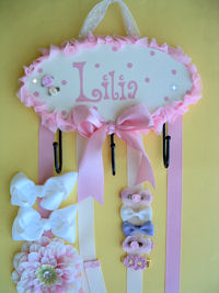 HeadBand + Bows Holder - Lilia