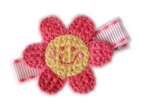 Crochet Flower - Little Miss Sunshine