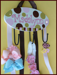 HeadBand + Bows Holder - Madalynnn