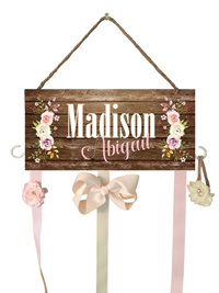 Hair Bow Holder - Madison Abigail Style