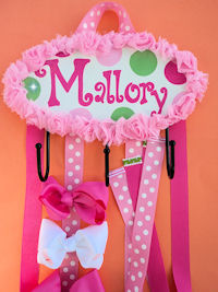 HeadBand + Bows Holder - Mallory