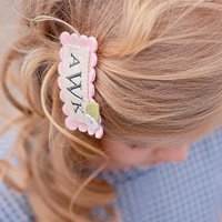 Monica Hair Clip - Light Pink
