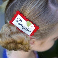Monica Hair Clip - Red