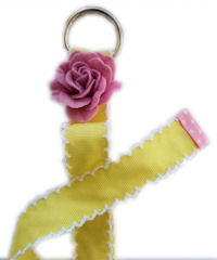 MoonStitch Hair Bow Holders - YELLOW