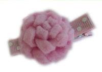 Mums Hair Clips - LIght Pink