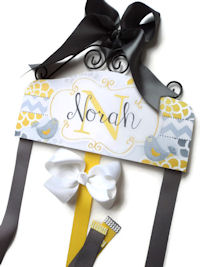 Emma Collection - Yellow and Gray - Norah