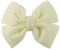 Basic Bows - Pinwheel - VELVET- Ivory