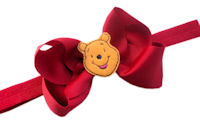 Winnie the Pooh Bow + Headband Kit