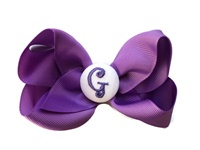 Basic Bows - MONOGRAM - Everyday Purple