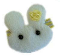 RoseBud Bunny - Yellow