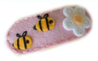 Sweet Snaps - Bumble Bees and Flower