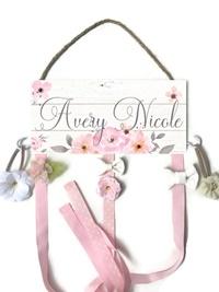Hair Bow Holder - Avery Nicole Style